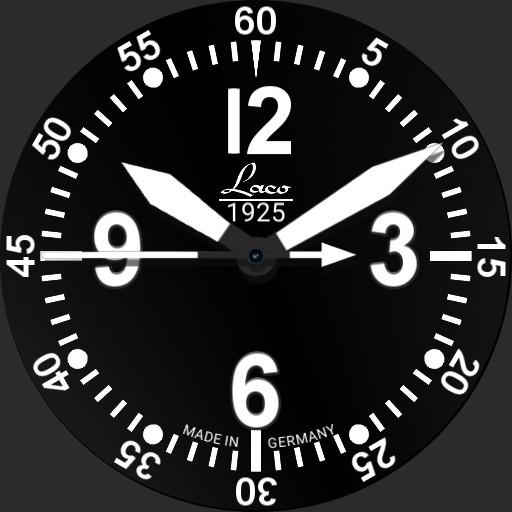 Laco BELL X-1 Pilot Watch