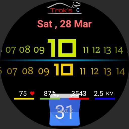 Troks Digital Sport Watch