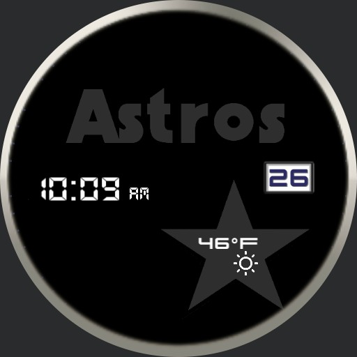 Astros Dark Retro