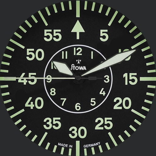 Bauhaus Flieger B-Uhr type B