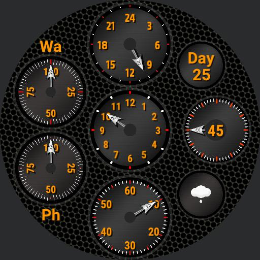 Dials Single analogue face. V1.0