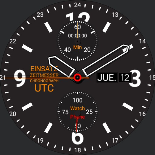 Mission Timer Chronograph UTC 3.3-b