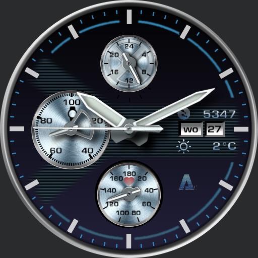 A-70  X Watch IceBlue