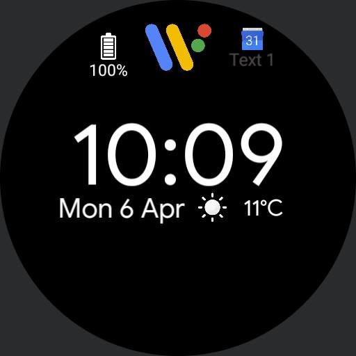 Google Pixel Watch Agenda