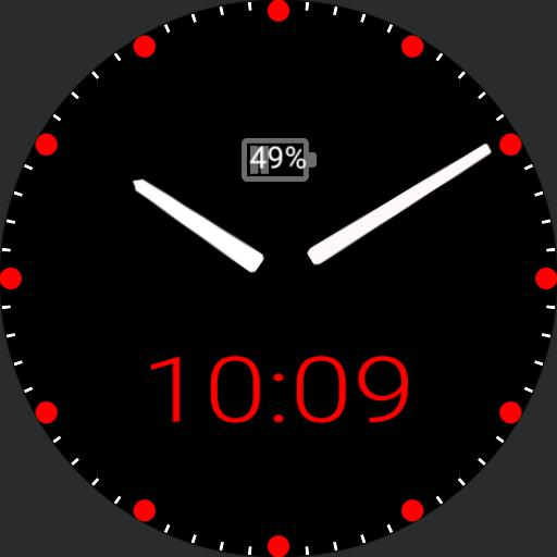 my watch red