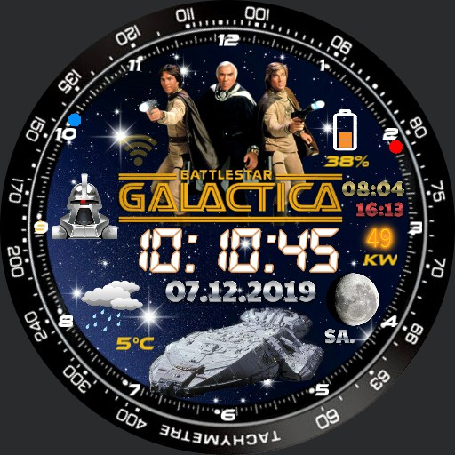 Battlestar Galactica 1.8