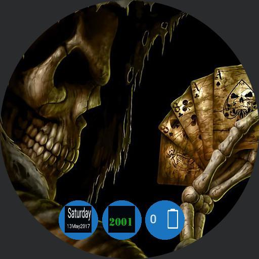 skull watch w 24hr time