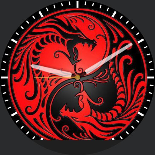 Black  Red Dragongs