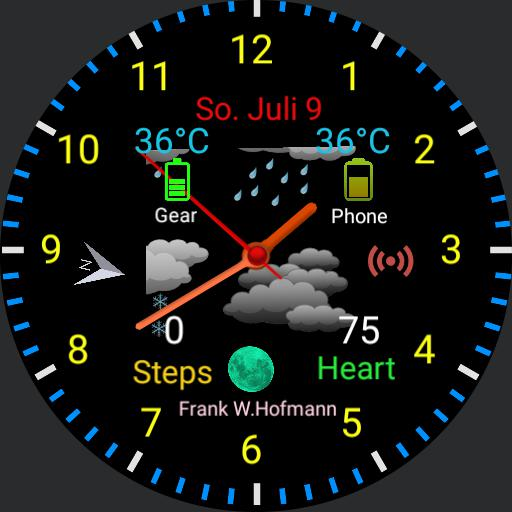 Color Watch Face