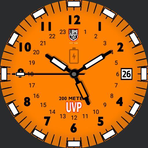Luminox Scott Cassell UVP Orange III