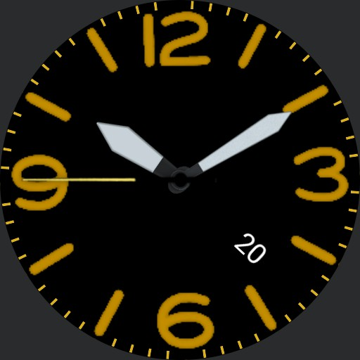 Aircraft style watch.