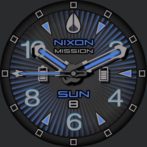 PVS Nixon 8 Dark Blue Rays