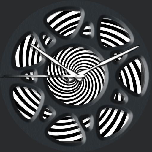 Black n White Swirl