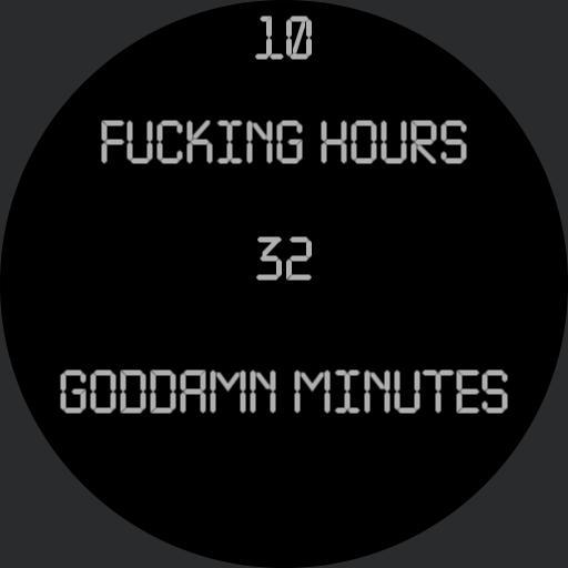 Fucking watch
