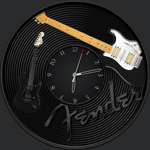 Fender Wall Clock