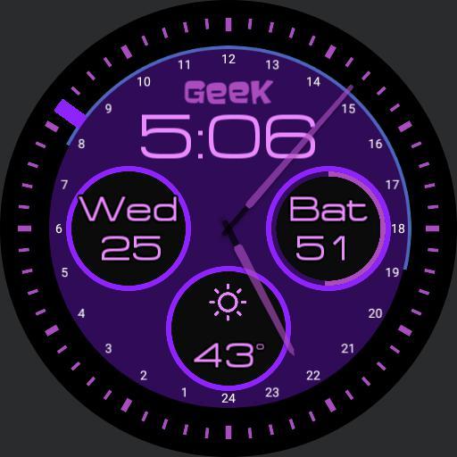 Purple geek