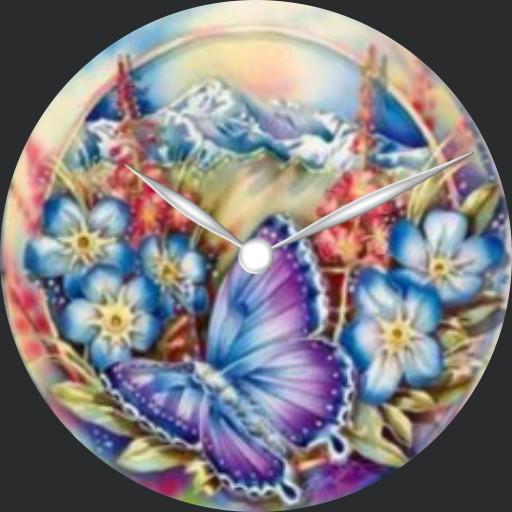 Butterfly Flowers - plwren