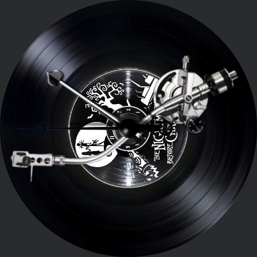 The Nightmare....Plattenspieler LP mit Cover 3S. A