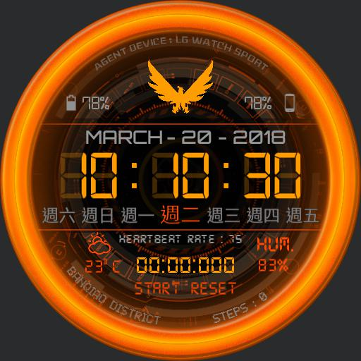 Division Agent Watchface v1