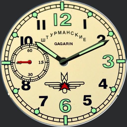 Gagarin 2 watch
