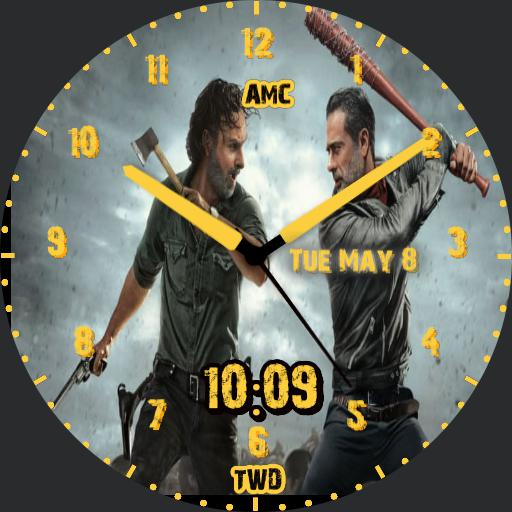 The Walking Dead / Rick-vs-Negan