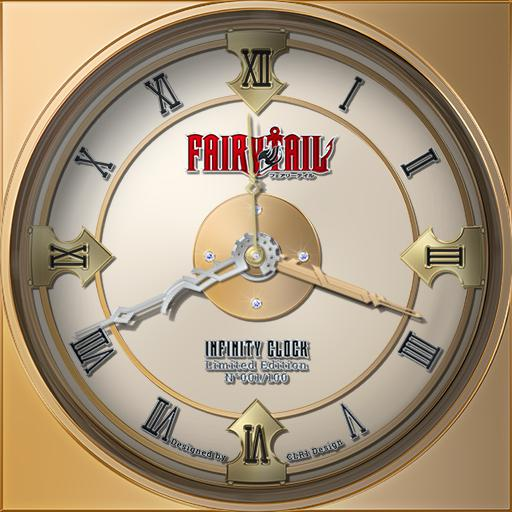 CLR1 Design - Fairy Tail - Infinity Clock - Limited Edition N001/100