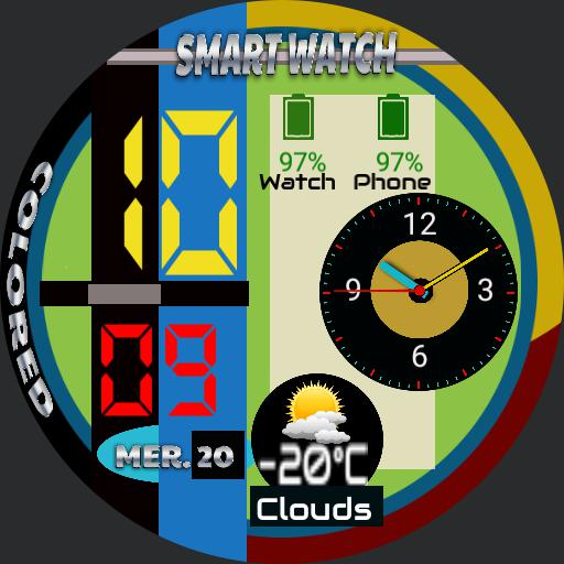Colored SmartWatch