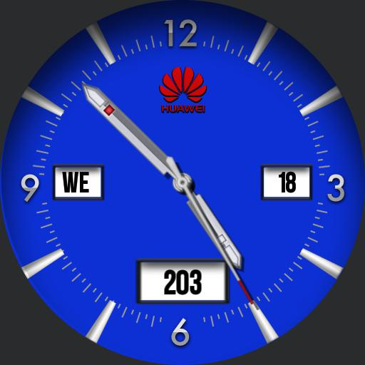 Huawei Analogue Blue