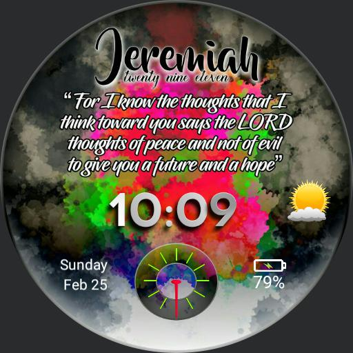Jeremiah 2911 Watch