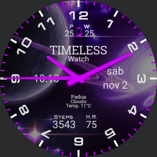 Timeless watch PURPLE