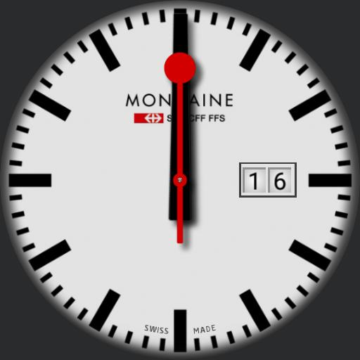 Mondaine Stop2Go Ticking
