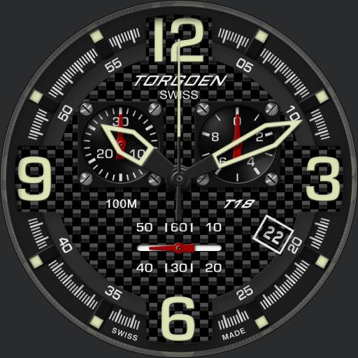 Torgoen T18 Carbon Chrono