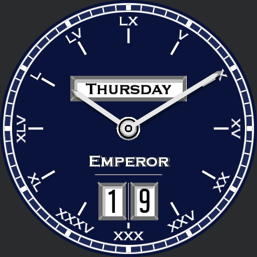 Blue Emperor Day/Date