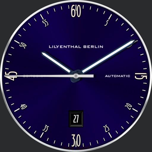 LILYENTHAL BERLIN Zeitgeist blue