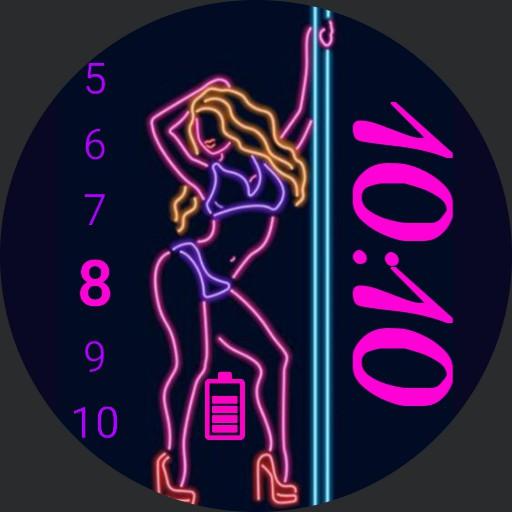 Sexy Neon Girl