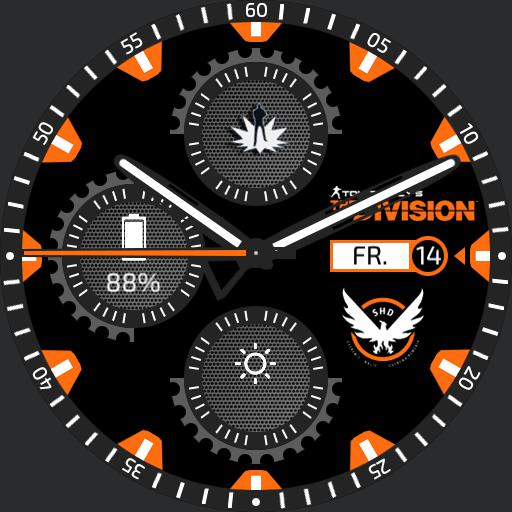 The Division - Agent Watchface