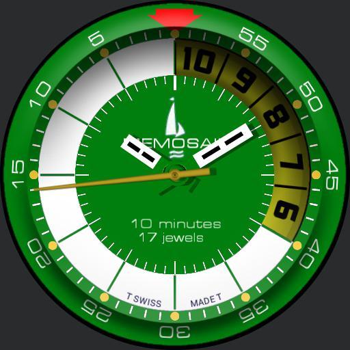Memosail Yachting Timer green