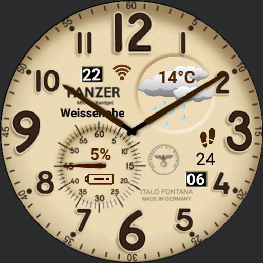 Antik-Uhr