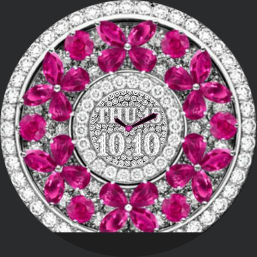 pink diamond butterflies