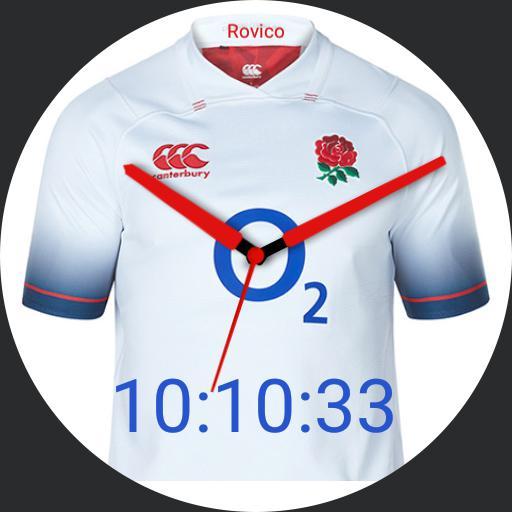 Rovico England Rugby Shirt