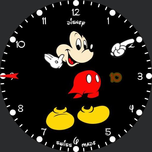 Color Mickey