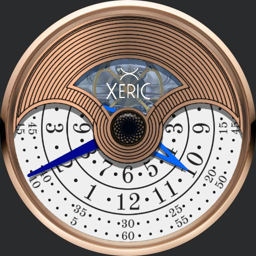 00 Xeric Evergraph Rose Gold