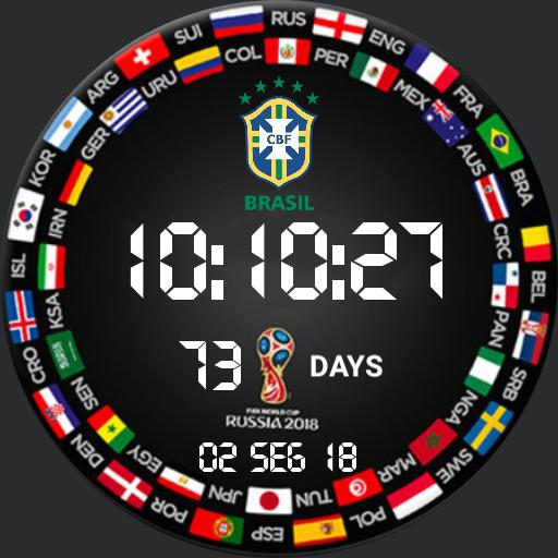 Watchface World Cup 2018