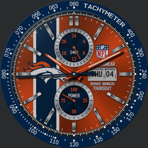 Denver Broncos NFL Modular Racer by QWW