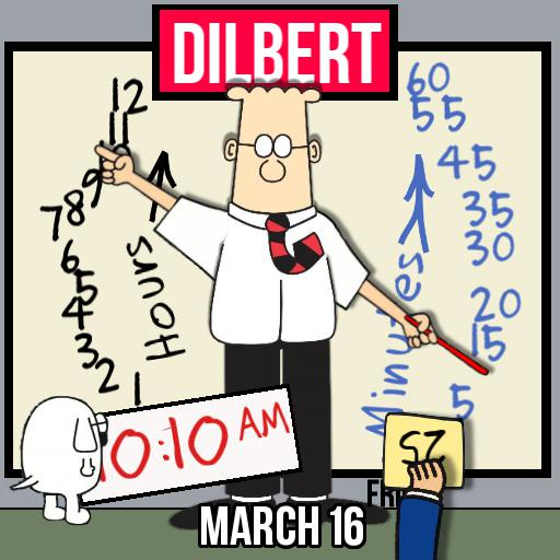 Dilbert Arm Watch Copy