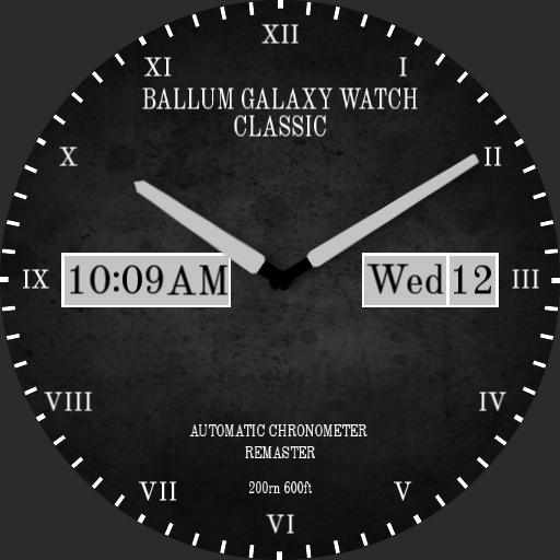 Ballum Galaxy Watch - Classic