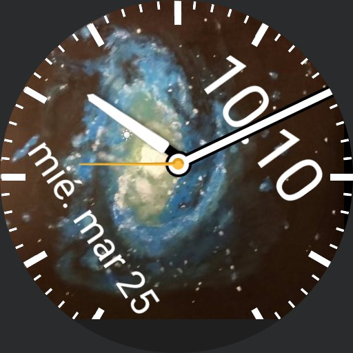 galaxy swirl watch Copy
