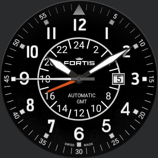 Fortis Flieger GMT v.1 by SevEn oclock