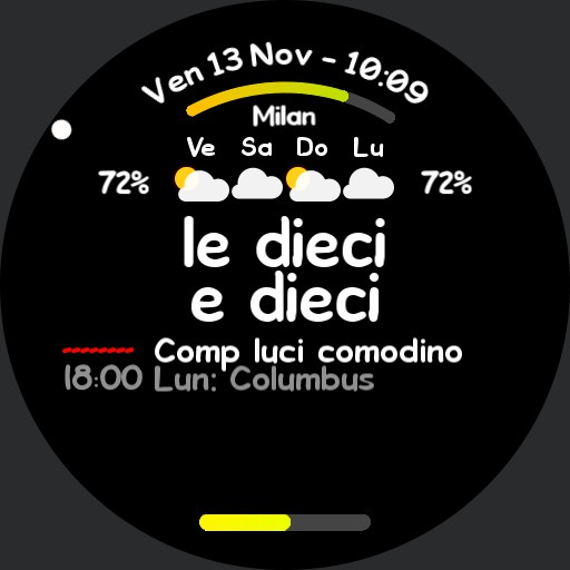 Cenzato - Ora in lettere  Meteo  Agenda Copy