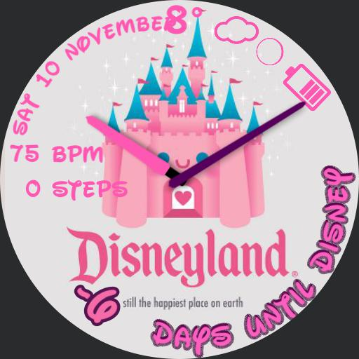 Countdown to Disney castle